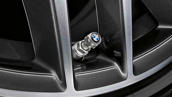 BMW Capuchon de valve en m/étal S/érie M pour pneu