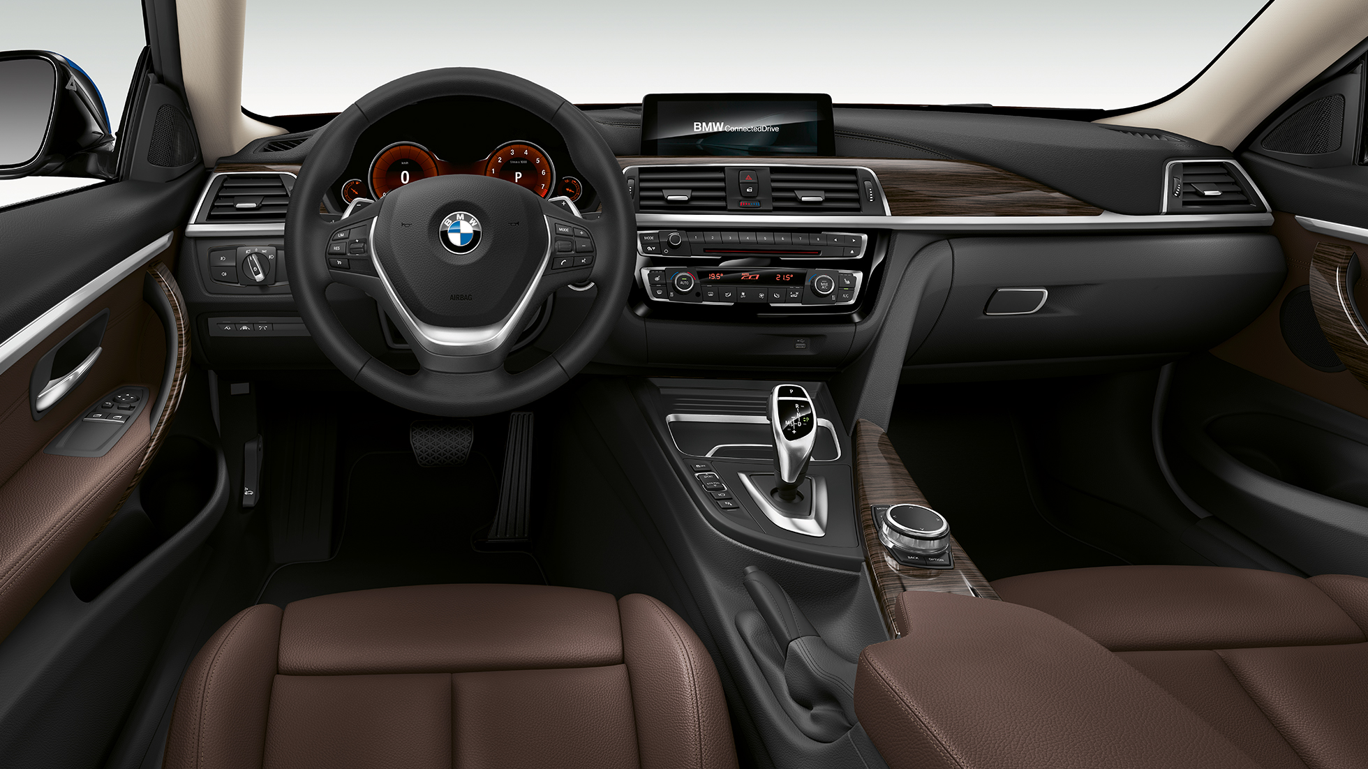 BMW 4er Coupé, Modell Luxury Line Cockpit