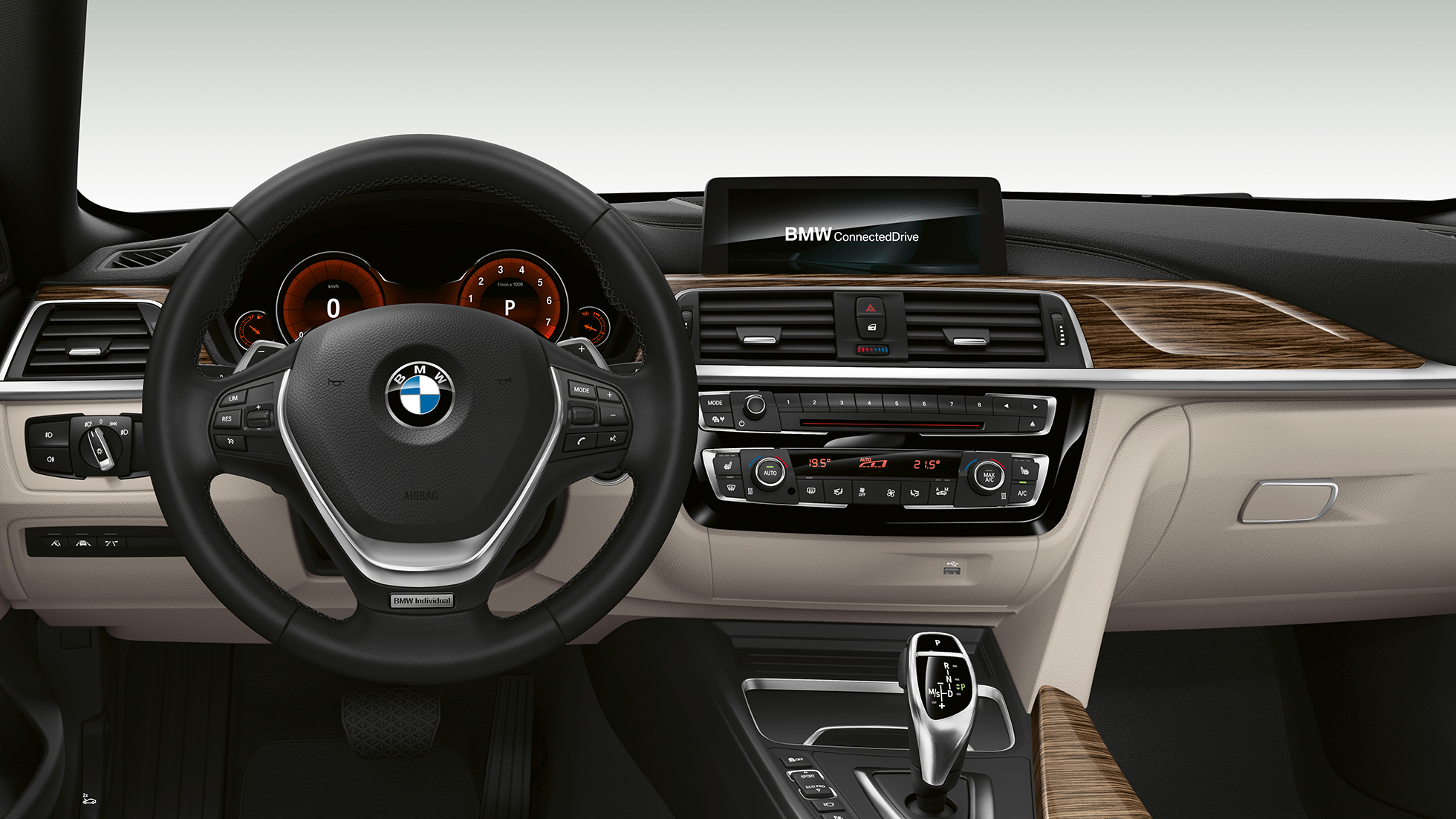 BMW 4 Series Gran Coupé, Model Luxury Line cockpit F36