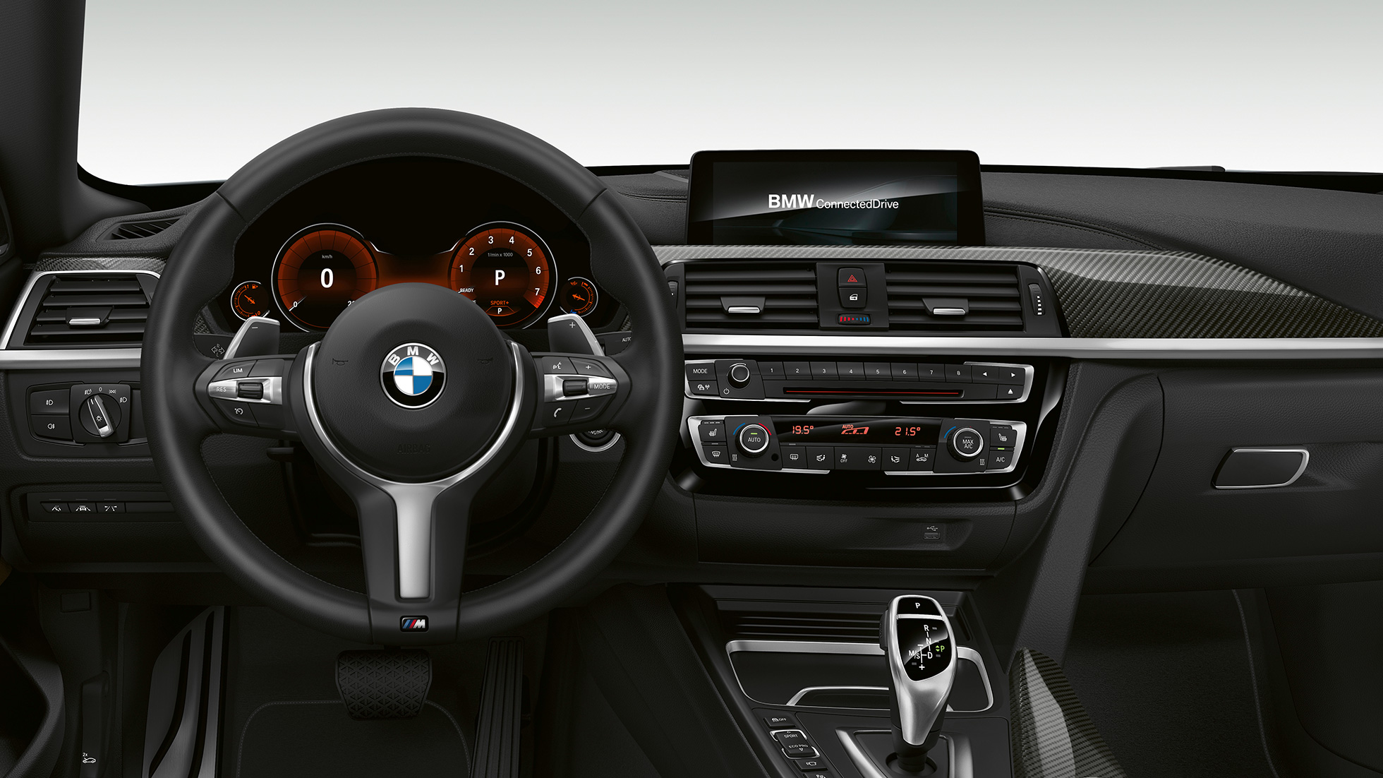 BMW 4 Series Gran Coupé, Model M Sport cockpit F36