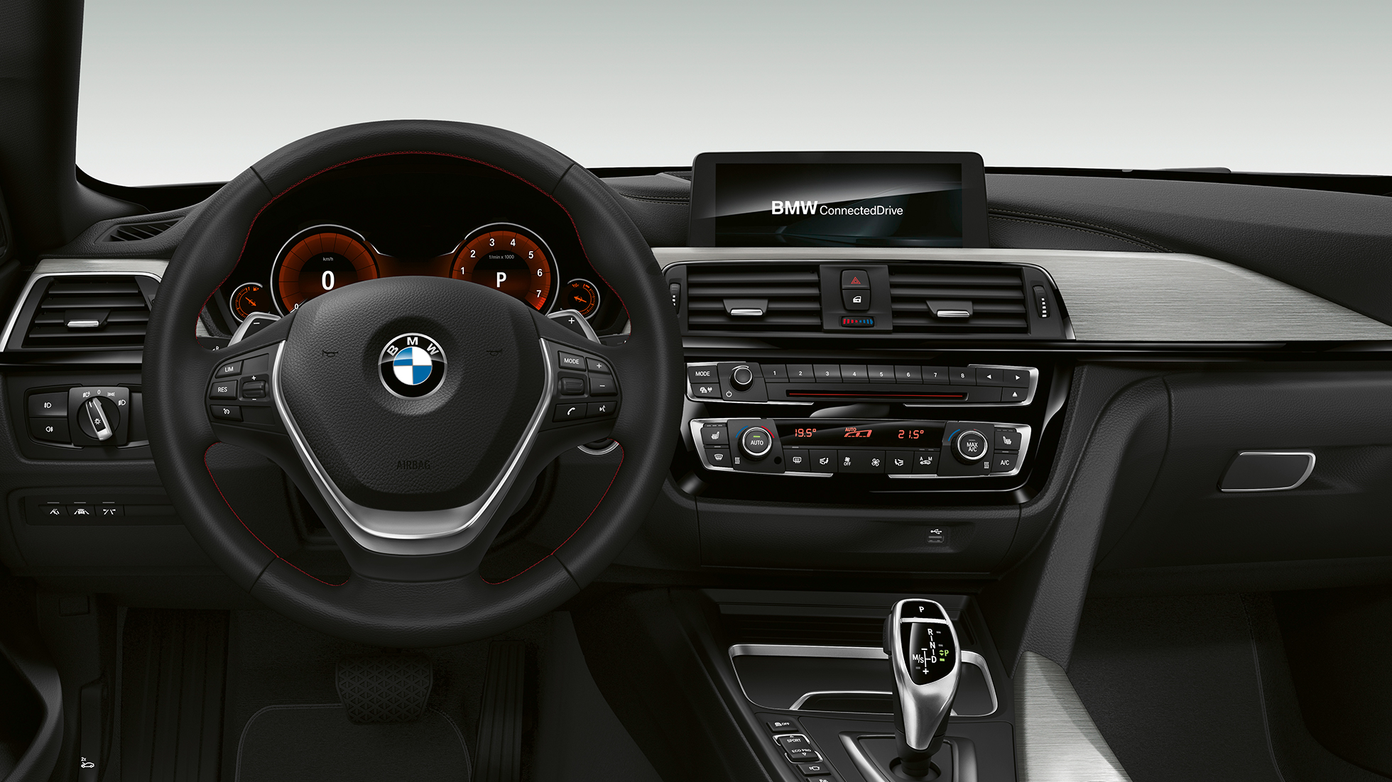 BMW 4 Series Gran Coupé, Model Sport Line cockpit F36