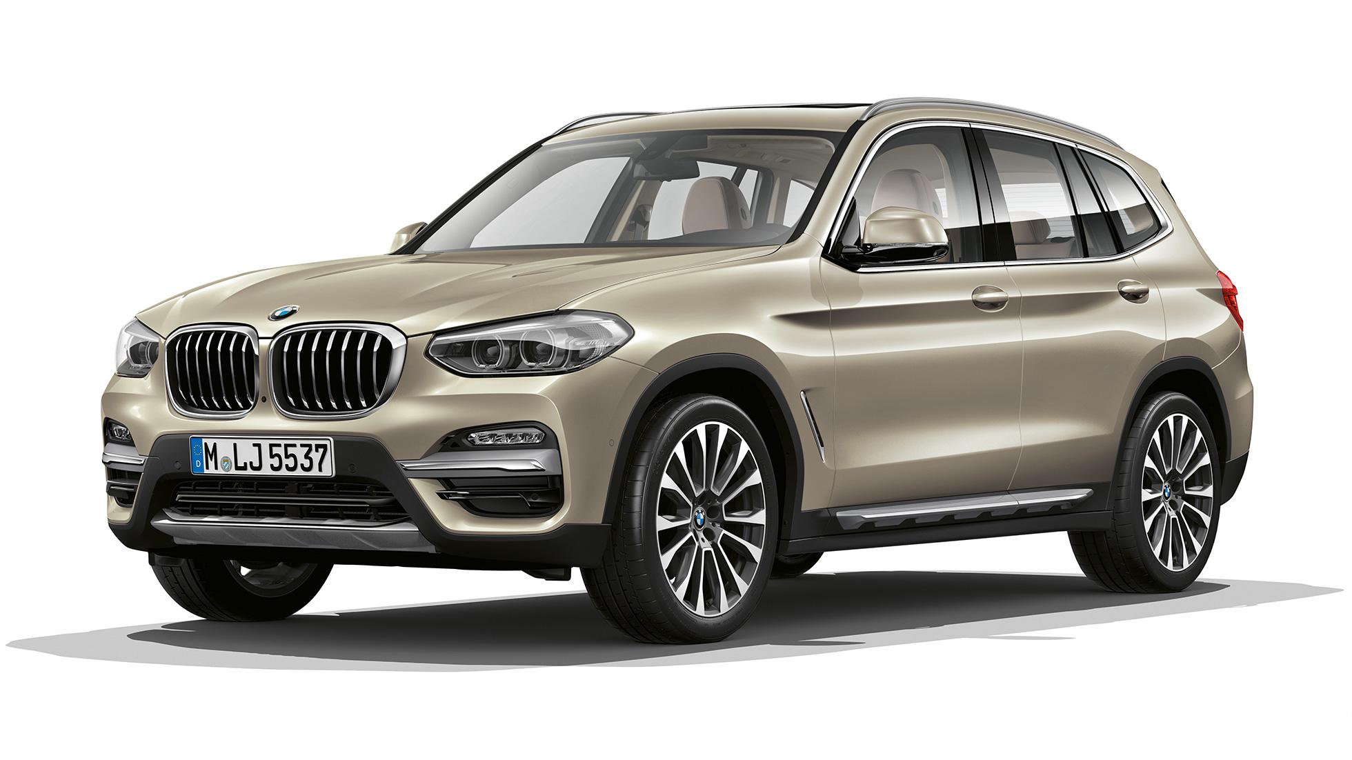 bmw x3 m40i modell luxury line dreiviertel frontschuss