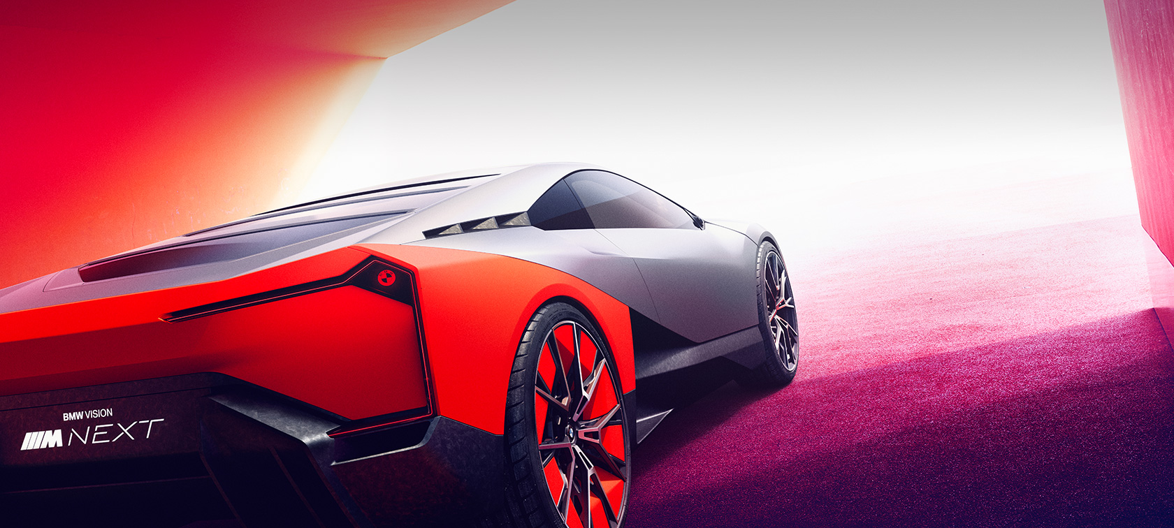 BMW Vision M NEXT, Artwork neutrale