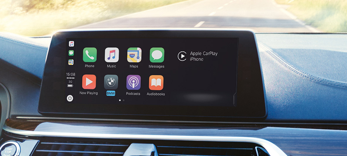 bmw connecteddrive apple carplay. Black Bedroom Furniture Sets. Home Design Ideas